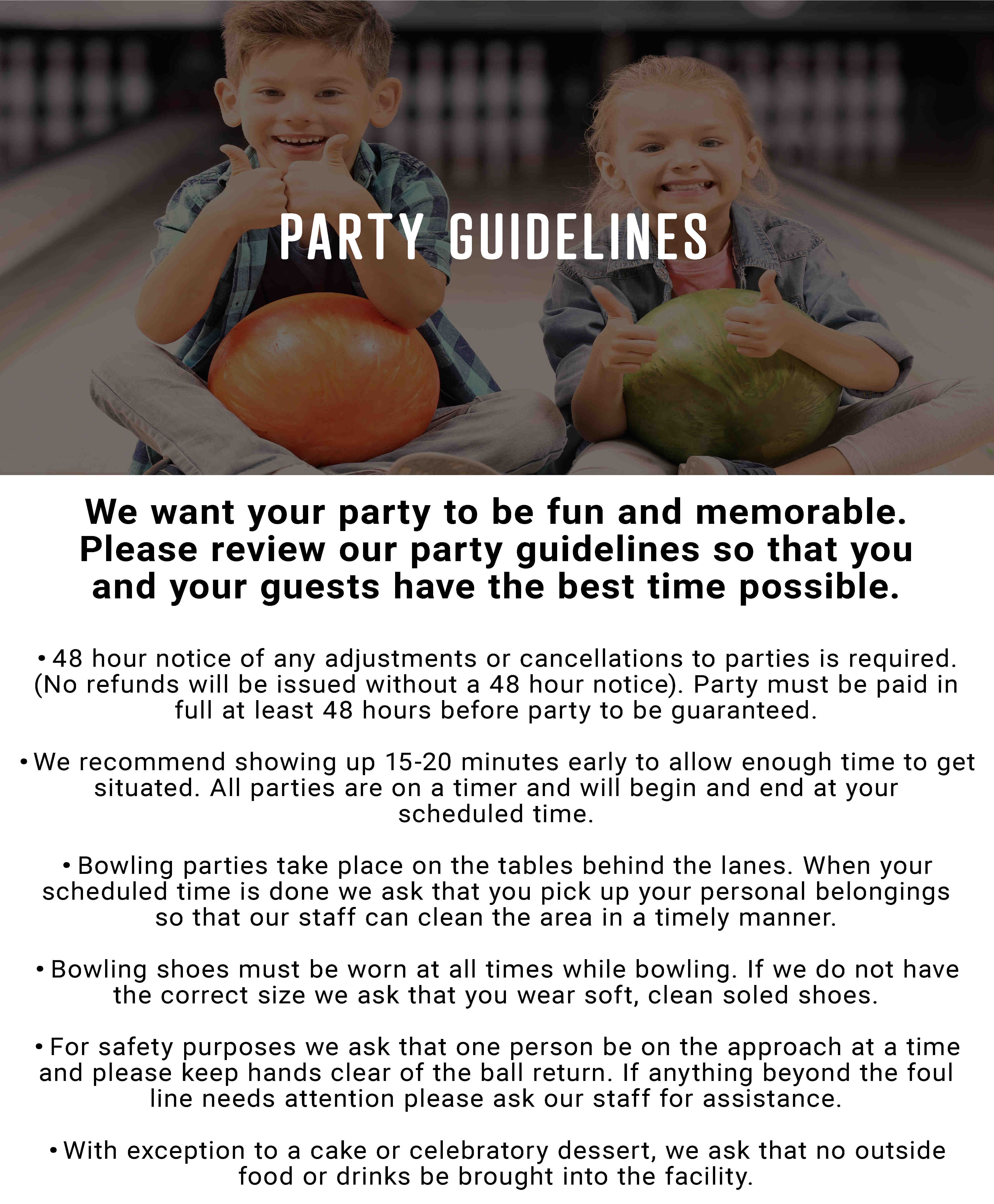Party guildelines