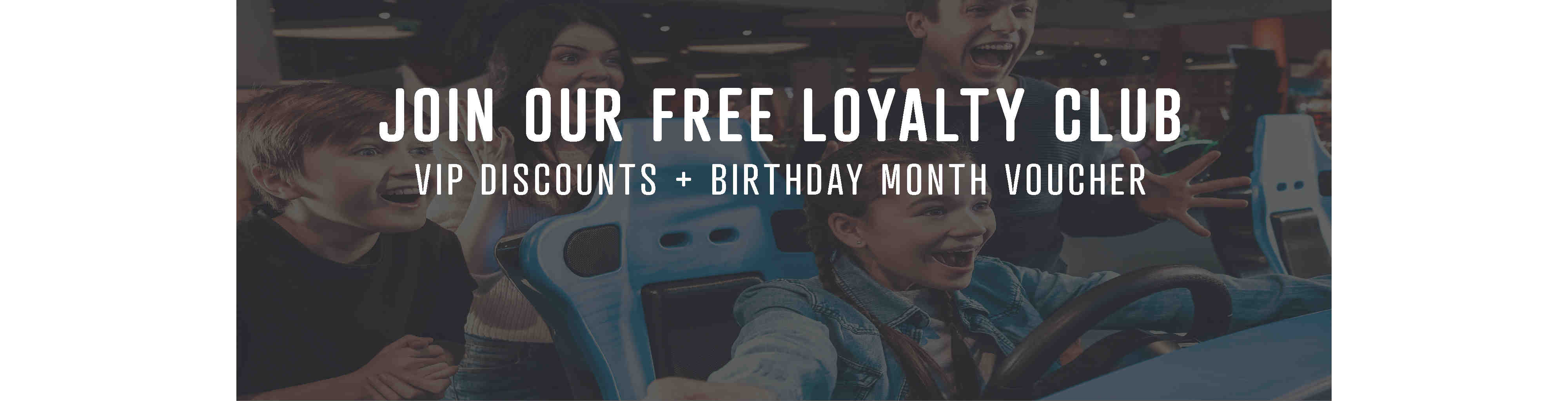 Join our free loyalty club today