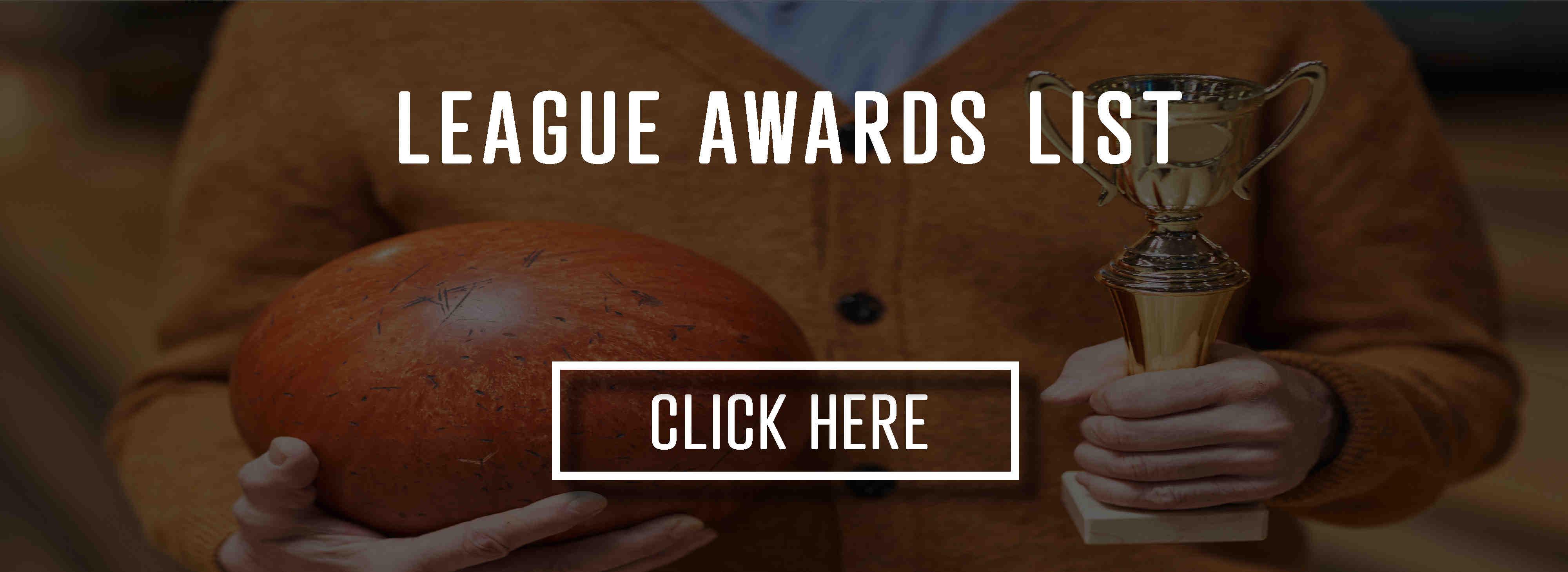 Bowling league awards list