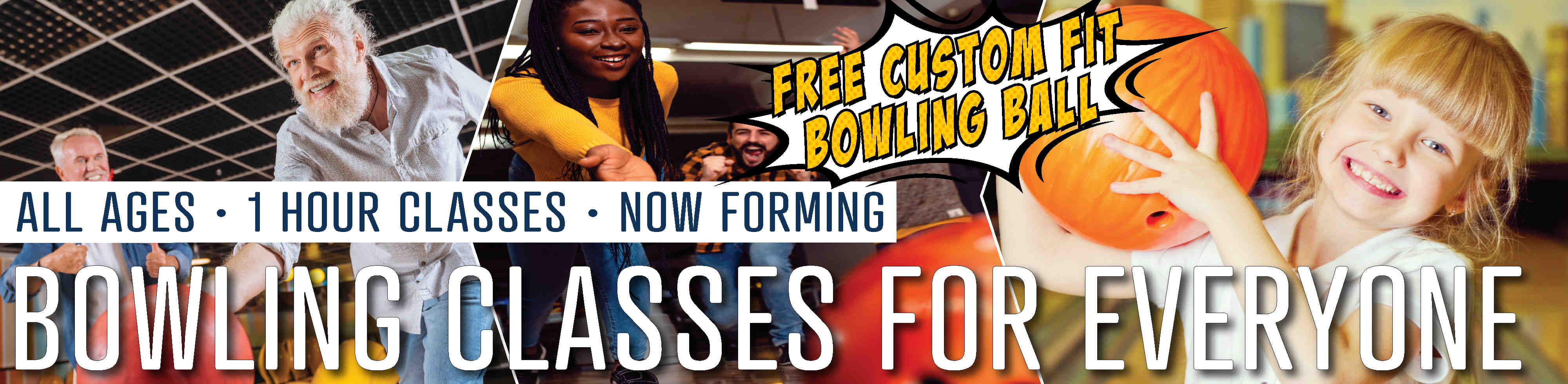 Bowlign classes for everyone